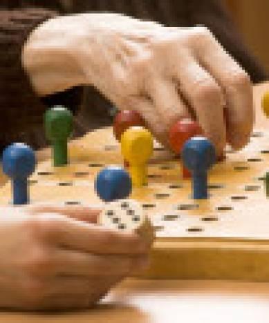 spannender Spielenachmittag mit den Schülern der Wümmeschule.